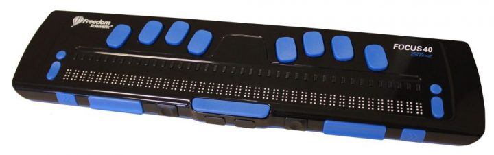 Ecran Braille, Focus 40 Blue