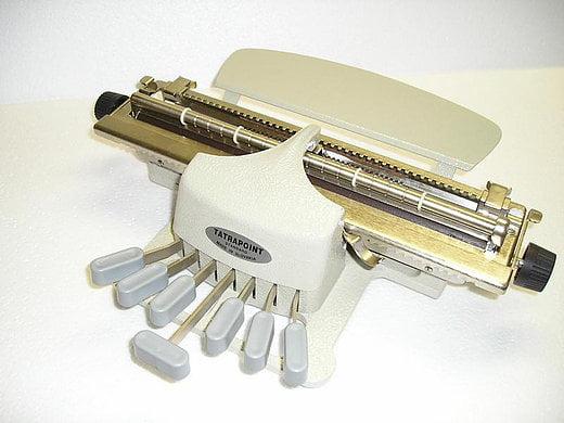 Maşina de scris Braille Tatrapoint Standard