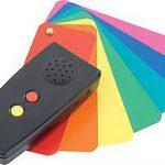 Colorino, detector de culori cu voce în limba română