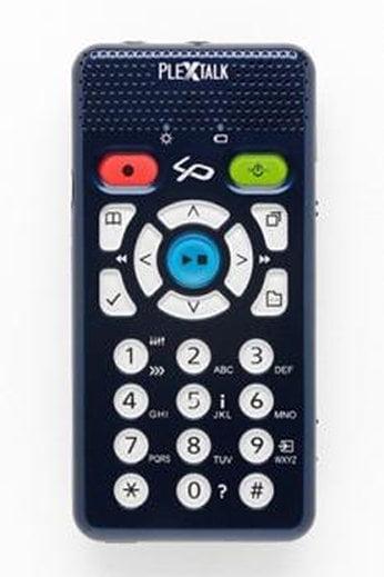 PlexTalk Lino Pocket, reportofon, cărţi audio, cititor DAISY, MP3 player